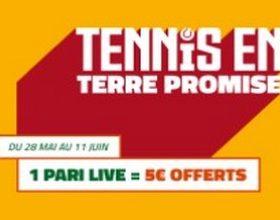 Pariez en Live sur Roland Garros 2017 avec PMU.fr