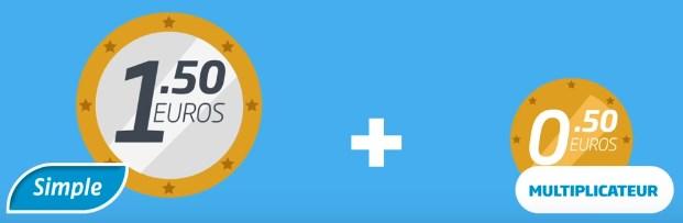 Jouez un simple Jackpot PMU pour 2 euros