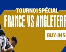 Remportez votre place pour France/Angleterre avec PMU poker