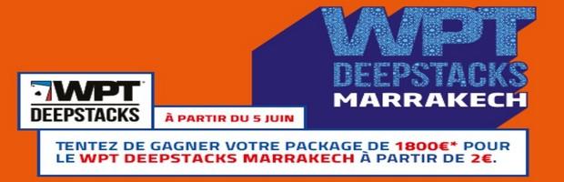 WPT Marrakech sur PMU poker