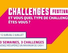PMU Poker vous propose le Challenge Festival du 12 juin au 2 juillet