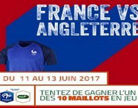 10 maillots des Bleus mis en jeu par PMU pour France-Angleterre le 13 juin