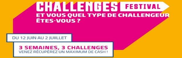 Profitez de 3 Challenges Poker avec PMU du 12 juin au 2 juillet