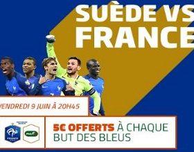 Remportez jusqu'à 15 euros lors de Suède/France avec PMU le 9 juin