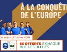Pariez sur l'équipe de france de football féminin avec PMU pour l'Euro 2017