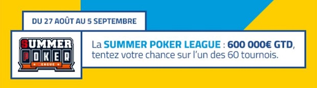 Summer Poker League PMU