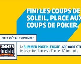 SPL sur PMU Poker du 27 août au 5 septembre