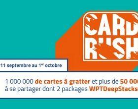 PMU.fr vous propose le Card Rush du 11 septembre au 1er octobre