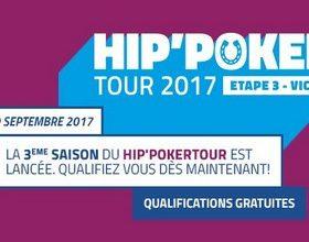 Le Hip'Poker Tour est de de retour sur PMU pour la saison 2017