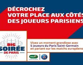Pronostiquez le foot européen du 25 au 28 spetembre sur PMU et gagnez votre soirée avec les joueurs de Paris