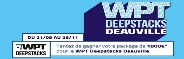 Qualifiez vous pour le WPT Deepstacks 2017 de Deauville avec PMU.fr