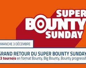 Jouez à l'un des 13 tournois bounty le 3/12 sur PMU Poker
