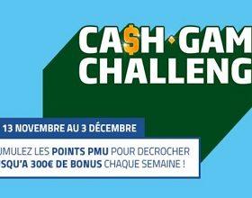Challenge Spot Poker et Cash Game du 13/11 au 3/12 sur PMU