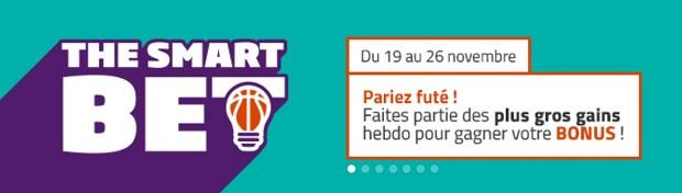 Gagnez 50€ grâce à vos paris NBA sur PMU entre le 19 et le 26 novembre 2017