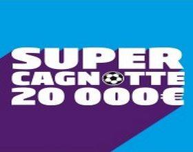 Cagnotte foot de 20.000€ à partager sur PMU du 14 au 17 décembre 2017