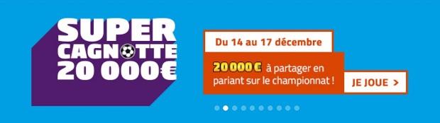 Placez vos paris sur la 18ème journée de Ligue 1 avec PMU