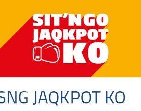 Votre mise de départ jusqu'à x 10.000 sur PMU Poker avec les SitN'Go Jaqpot KO
