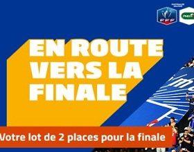 Deux places pour la finale de la Coupe de France à gagner sur PMU