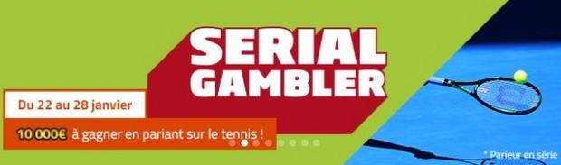 10.000€ mis en jeu sur l'Open d'Australie par PMU Sport