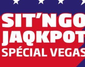 PMU Poker vous propose les SnG Jaqkpot Vegas en janvier 2018