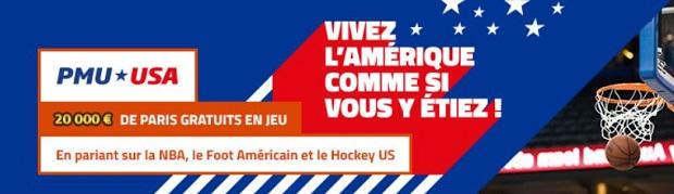 Pronostiquez les sports US jusqu'au 29 janvier 2018 avec PMU