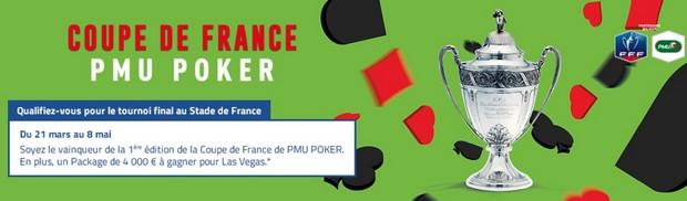 Le 8 mai 2018 se joue la finale de la Coupe de France de Poker avec PMU
