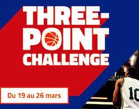 """Découvrez le """"Three-Point Challenge"""" de PMU"""