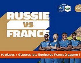Misez sur Russie-France sur PMU.fr le 27 mars 2018