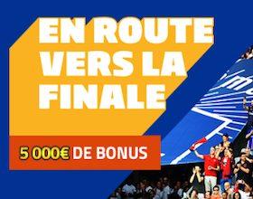 Pariez sur les 1/2 finales de la Coupe de France avec PMU entre le 15 et le 18 avril