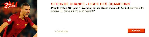 Pariez sur Roma/Liverpool avec PMU Sport et gagnez jusqu'à 100€