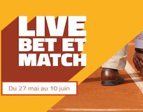 Obtenez 5€ de pari sur PMU.fr lors de Roland Garros 2018