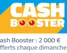 Freeroll Cash Booster chaque dimanche à 19 heures sur PMU Poker