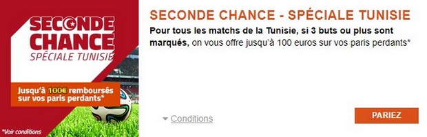 Pariez sur les matchs de Coupe du Monde de la Tunisie avec PMU.fr