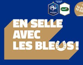 En scelle avec les Bleus lors du Mondial 2018 sur PMU Turf
