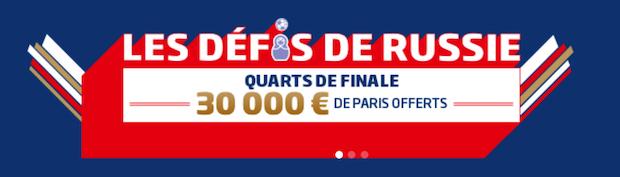 Cagnotte de 30.000€ minimum à partager du 4 au 7 juillet sur PMU