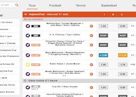 Liste des sports sur lesquels on peut miser avec PMU