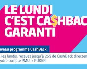 Obtenez jusqu'à 1.300€ en cash chaque semaine sur PMU Poker
