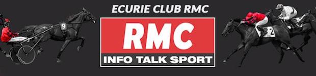 Ecurie Club RMC sur PMU turf