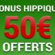 Bonus Turf de 50€ sur France Pari