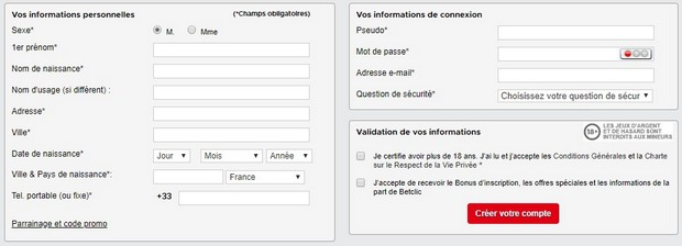Betclic : ouvrir un compte