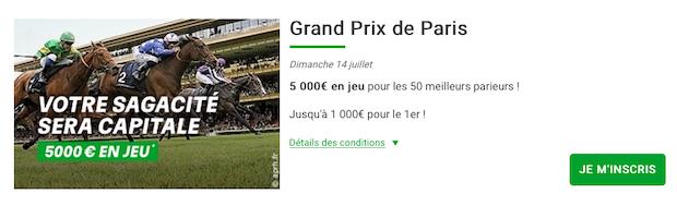 Grand Prix de Paris 2019 sur PMU Turf