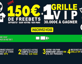Code promotionnel de Net Bet