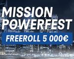 Relevez la mission de PMU Poker pour le Powerfest