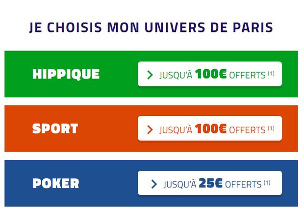 5€ offerts si vous vous inscrivez sur PMU via le parrainage