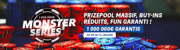 Festival de poker du 5 au 13 janvier 2020 avec PMU