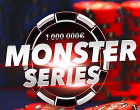 Un million d'euros à partager lors des Monster Series 2020 sur PMU poker