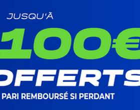 Jusqu'à 100€ à gagner avec ParionsSport