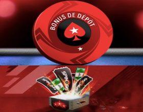 Offre de bienvenue PokerStars