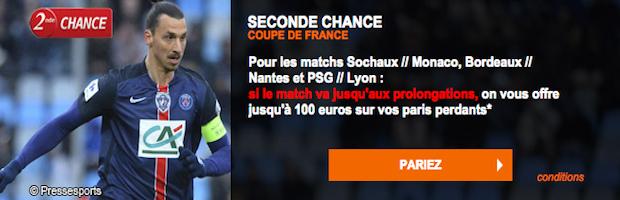 Coupe de France 8ème de finale sur PMU