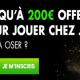 200€ offerts sur le turf avec JOA Bet